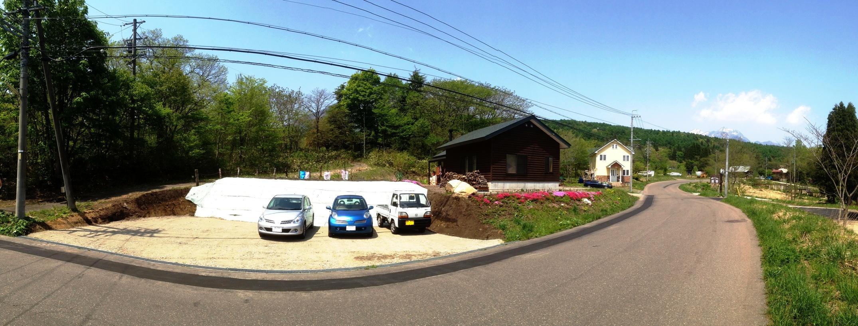 駐車場増設工事完了!1