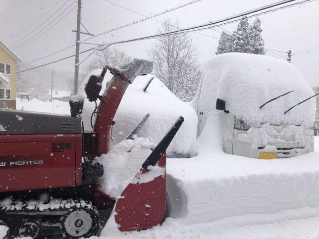 大雪警報から一夜明けて20181228-2
