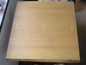 お客様のDIY作品「杉のテーブル」~長野県軽井沢・波多野様~20200711-2