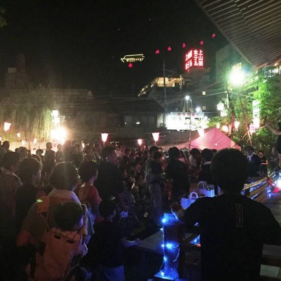 「戸倉上山田温泉 盆踊り大会」へ3