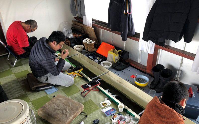 同級生親子わかさぎ釣り20190216-1