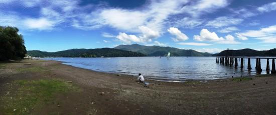 息子と野尻湖へ20150912-2