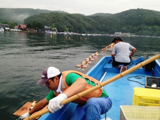 野尻湖とうろう流し花火大会2013-2