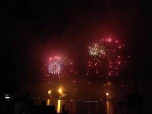 野尻湖とうろう流し花火大会2013-7
