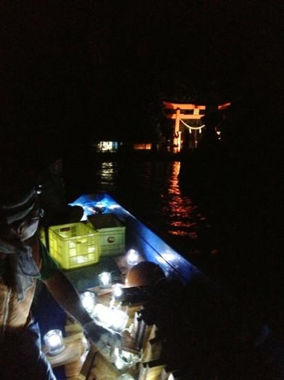 野尻湖とうろう流し花火大会2013-10