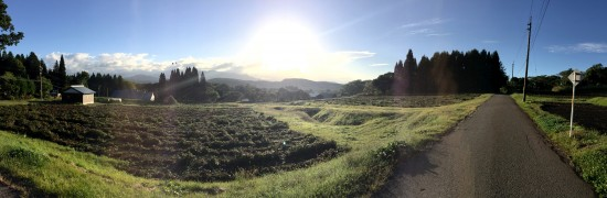 今日の信州・黒姫20150930~肌寒い朝となりました~