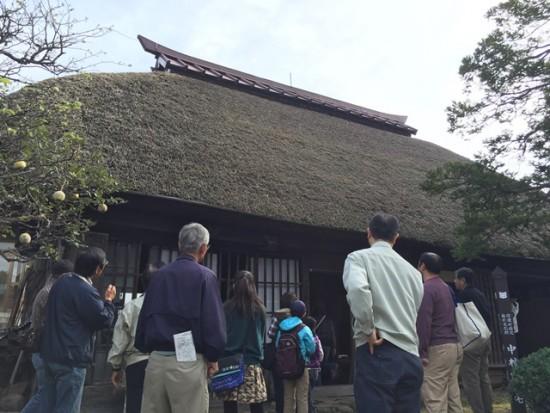 中村家住宅を見学20151010-2