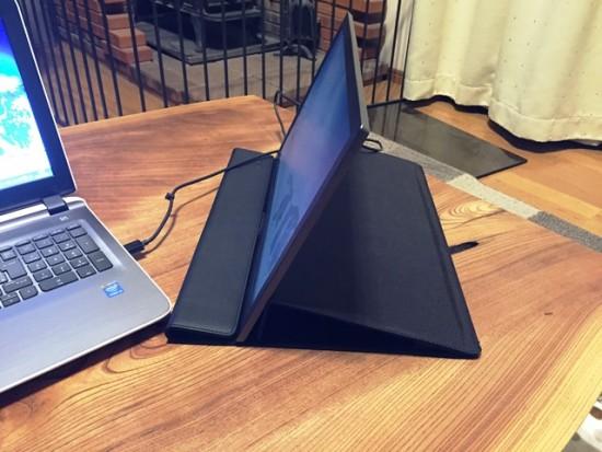 ノートパソコン、サブディスプレイを導入20151024-4