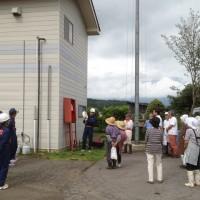 信濃町地震総合防災訓練2013