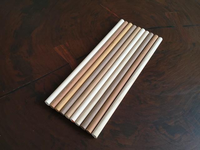 銘木丸棒10mmお試しセットが売れています20151102