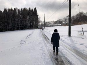 家族で散歩20200101