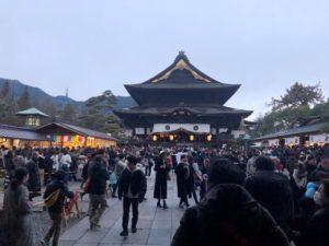 善光寺初詣20200103-2