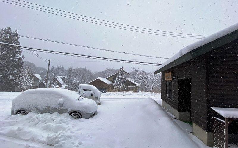 今シーズン初除雪20200105