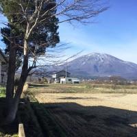 物件裏より2(戸隠連峰・黒姫山の眺め)