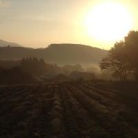 信州・黒姫今日の風景~20131028早朝~