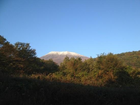 信州・黒姫今日の風景20131028早朝2