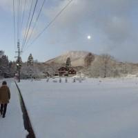今日の信州・黒姫20151228~ようやく冬らしなってきました~