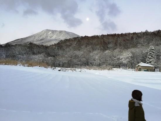 今日の信州・黒姫20151228~ようやく冬らしなってきました~2