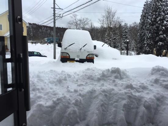 久しぶりに大雪になりました20160130-2