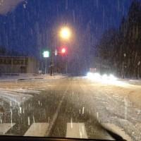 新潟出張から戻ると黒姫は大雪に。。20131221