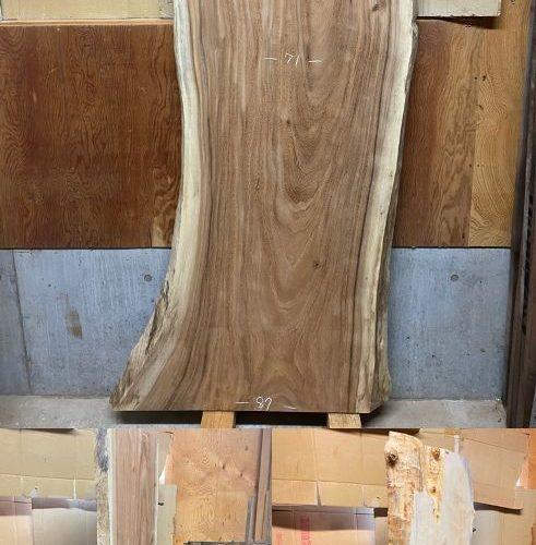 大型一枚板素材(モンキーポッド・栃・ブラックウォルナット・欅・山桜)掲載開始!20200123