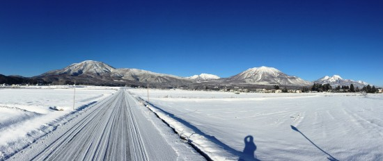 数日降り続いていた雪が止み快晴に!20160218