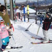 今シーズン初スキー20131230