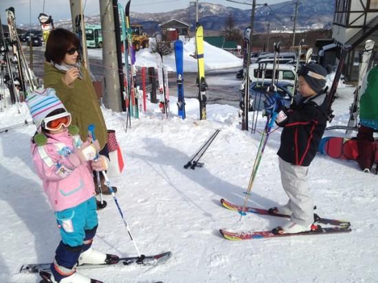 今シーズン初スキー20131230-1