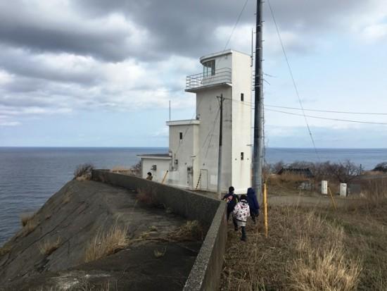 鳥々首岬灯台20160228