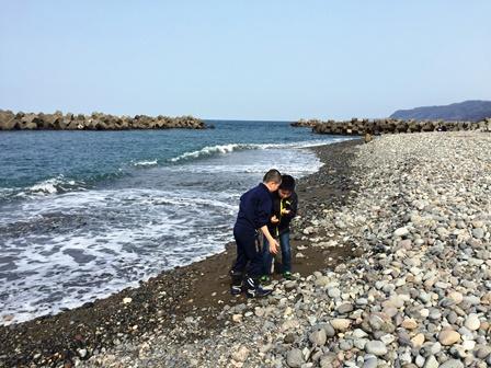 糸魚川・ヒスイ海岸へ20160228-2