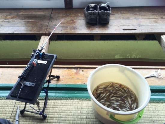 「子供わかさぎ釣り教室」に参加20160318-3