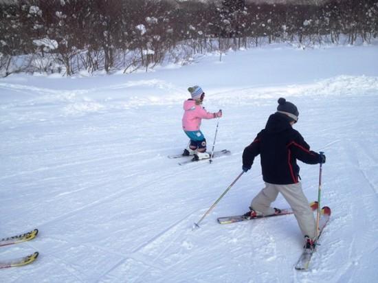 黒姫高原スノーパークでスキー20140223-2