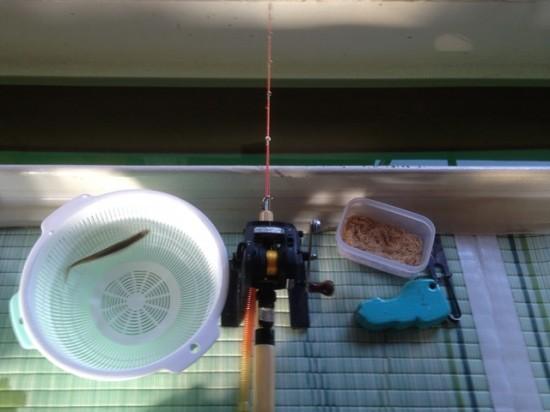 野尻湖でのワカサギ釣り大会~飯綱町商工会青年部との交流会~20140226-3