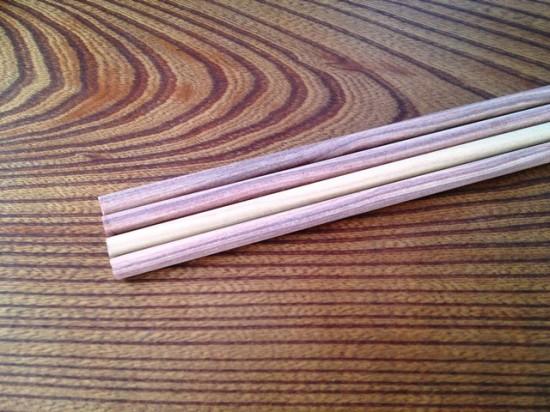 銘木紫檀丸棒直径10mm×長さ500mm+ノビ_3