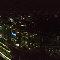 新宿のビジネスホテルからの眺め20140401