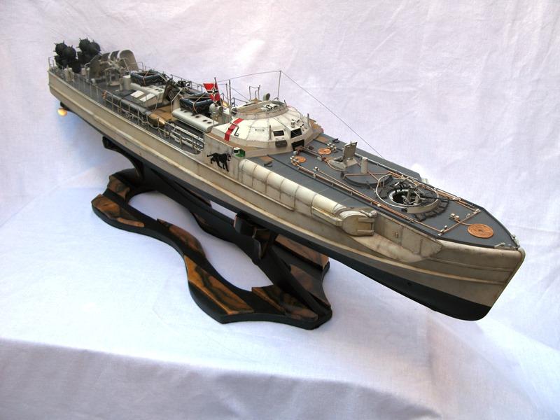 魚雷艇完成!(黒柿の船台)20161213-1