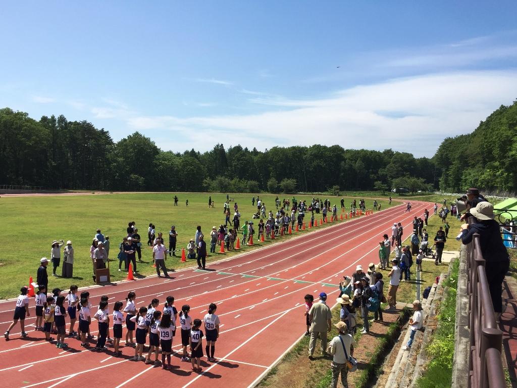 信濃町小学生マラソン大会20160529