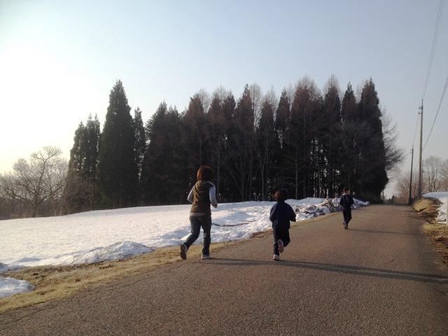 今朝の風景20140409