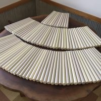 朴(ホオ)の太鼓バチ、100本のご注文を頂きました