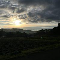 今朝の信州・黒姫20161014~美しい日の出を見ることが出来ました~