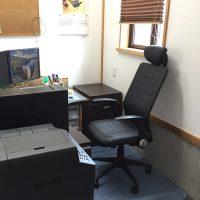 事務所の私の椅子を新調!20161018