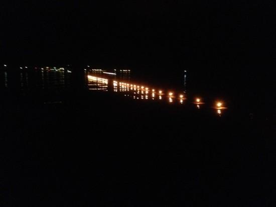 野尻湖灯ろう流し花火大会のお手伝い20140726-7