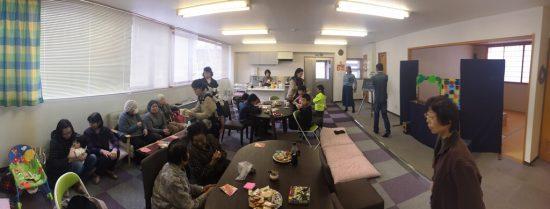 大平オフィスクリスマス会の様子20161210