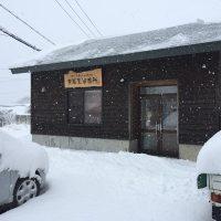 昨日までの陽気が一転。大雪に20161224