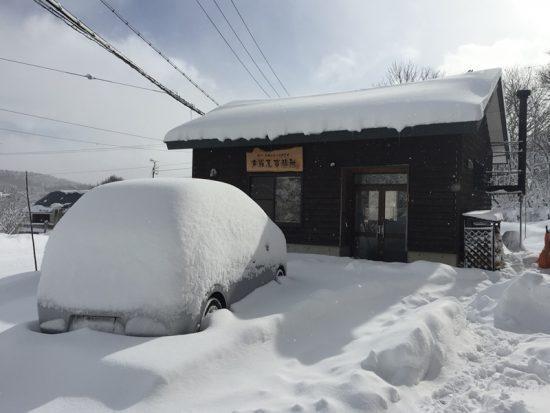 大雨からの大雪20161228