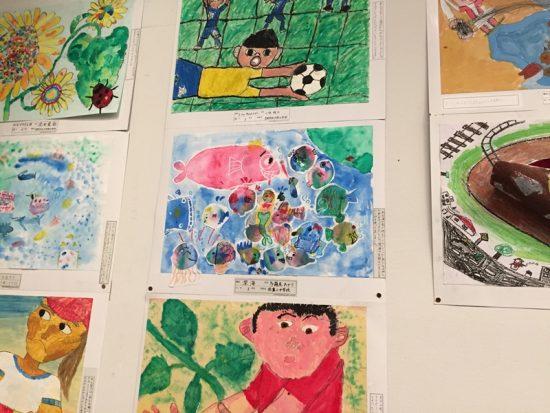 長野県児童生徒美術展へ20170121-4