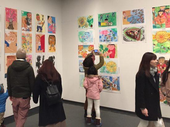 長野県児童生徒美術展へ20170121-3