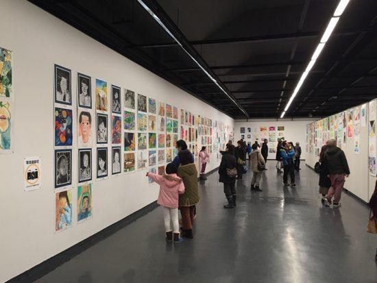 長野県児童生徒美術展へ20170121-2