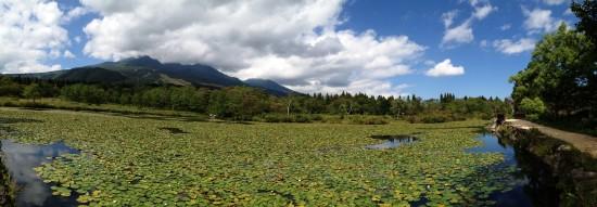 いもり池へ20140921