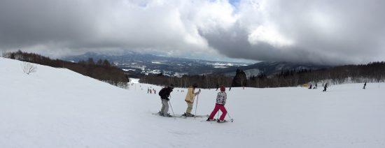 今シーズン最後のスキーへ20170226-1